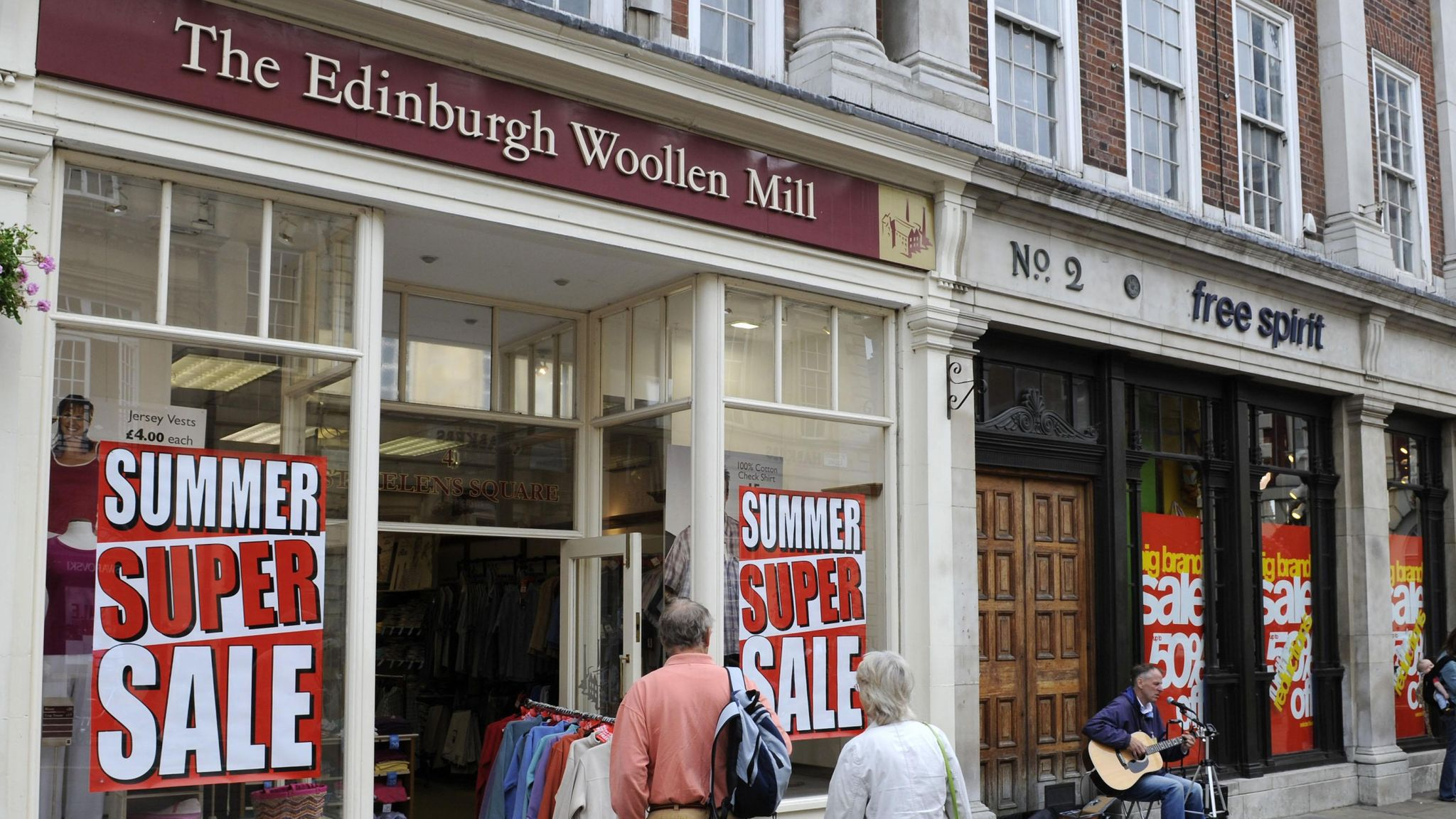 Edinburgh Woollen Mill on the brink of insolvency with 24,000 jobs at risk